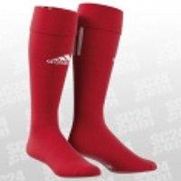 adidas Santos 3-Stripe rot/weiss Größe 37-39