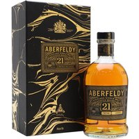 Aberfeldy 21 Year Old / Festive Gift Box Highland Whisky