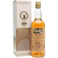 70cl / 40% / Gordon & MacPhail - This 1974-vintage Ardbeg was bottled by Gordon & MacPhail in 1994 as part of the Spirit of Scotland series to commemorate 500 years of Scotch whisky.