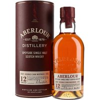 70cl / 40% / Distillery Bottling - Aberlour is always a good choice - one of the best value Speyside malts around.  This double matured version is a mix of traditional oak and sherry casks and is rich and fruity with delicious Christmas cake notes.