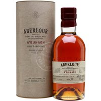 70cl / 61.1% / Distillery Bottling - This is the 58th batch of Aberlour's popular A'bunadh series. Matured in oloroso-sherry casks, this is big, rich and full of fruit-and-nut flavours.