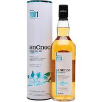 70cl / 46% / Distillery Bottling - The 2001 release in AnCnoc's vintage whisky series has been aged in a combination of bourbon and sherry casks. This has notes of honey, vanilla, chocolate and citrus zest.