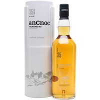 70cl / 41% / Distillery Bottling - The second release of 35-year-old whisky from AnCnoc, the oldest bottling in their regular range. A combination of a small number of bourbon and sherry casks to produce a balanced, sweet and fruity dram with notes of honey, vanilla, and a hint of smoke.