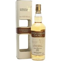 70cl / 46% / Gordon & MacPhail - A 2009 vintage Arran, bottled by independent bottler Gordon & MacPhail in 2017. Aged in a refill bourbon barrel, this will be full of vanilla and coconut flavours.