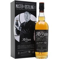 Arran 12 Year Old / The Man with the Golden Glass Island Whisky