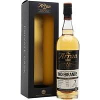 Arran Peated 2011 / 7 Year Old/Private Cask for Indie Brands Island Whisky