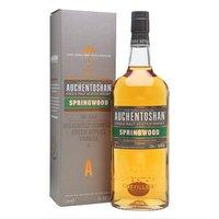 Auchentoshan Springwood / Litre Lowland Single Malt Scotch Whisky