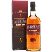 Auchentoshan Blood Oak Lowland Single Malt Scotch Whisky