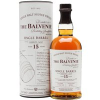 Balvenie 15 Year Old / Single Barrel / Sherry Cask Speyside Whisky