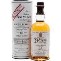 Balvenie 15 Year Old / Sandy Grant Gordon Speyside Whisky