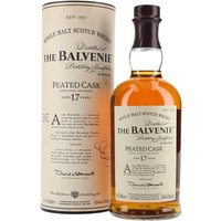 Balvenie 17 Year Old / Peated Cask Speyside Single Malt Scotch Whisky