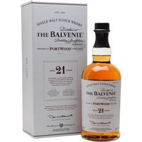 Balvenie 21 Year Old / Port Wood Speyside Single Malt Scotch Whisky