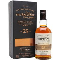 Balvenie 25 Year Old / Triple Cask Speyside Single Malt Scotch Whisky