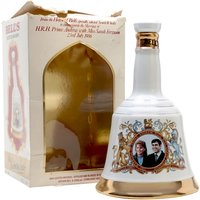 75cl / 43% - A collectible Bell's decanter celebrating the wedding of Prince Andrew and Miss Sarah Ferguson on 23 July 1986.  Part of the Bell's decanter series to commemorate special royal events.