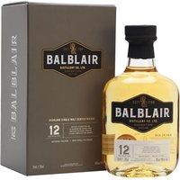 Balblair 12 Year Old Highland Single Malt Scotch Whisky