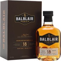 Balblair 18 Year Old Highland Single Malt Scotch Whisky