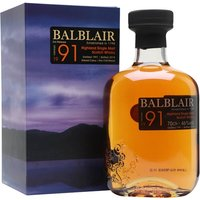 Balblair 1991 / 3rd Release Highland Single Malt Scotch Whisky