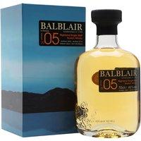 Balblair 2005 / Bot.2018 Highland Single Malt Scotch Whisky