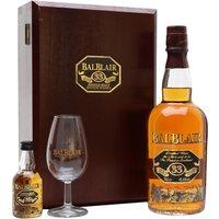 Balblair 33 Year Old Gift Set Highland Single Malt Scotch Whisky