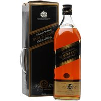 375cl / 43% - A huge 3.75 litre bottle of Johnnie Walker's ever popular Black Label blended whisky. Will require two hands to pour...