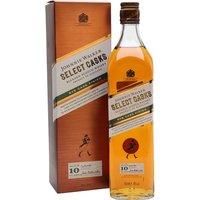 Johnnie Walker Select Cask 10 Year Old / Rye Cask Finish Blended Whisky