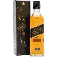 Johnnie Walker Black 12 Year Old / Half Bottle Blended Scotch Whisky