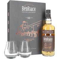 Benriach 10 Year Old / Glass Pack Speyside Single Malt Scotch Whisky