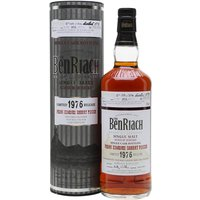 Benriach 1976 / 35 Year Old / PX Sherry Finish Speyside Whisky