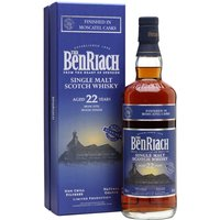 BenRiach 22 Year Old / Moscatel Finish Speyside Whisky