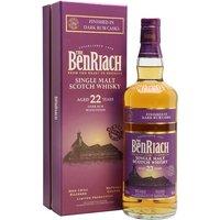 Benriach 22 Year Old Dark Rum Speyside Single Malt Scotch Whisky