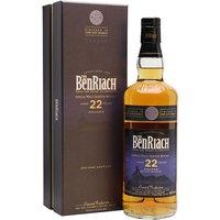 Benriach 22 Year Old Dunder Speyside Single Malt Scotch Whisky