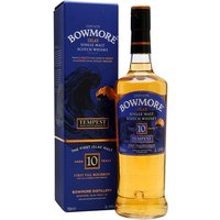 70cl / 54.9% / Distillery Bottling - The sixth release of Tempest � Bowmore�s cask-strength 10-year-old. Aged in first-fill ex-bourbon barrels, the emphasis is on tropical-fruit character. A peaty, smoky and fruity dram with great balance.
