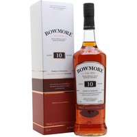 Bowmore 10 Year Old / Dark & Intense / Litre Islay Whisky