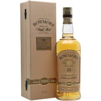 Bowmore 1989 / 16 Year Old / Bourbon Cask Islay Whisky