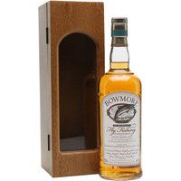 70cl / 40% / Distillery Bottling - A rare commemorative bottling of Bowmore released to commemorate the 2003 fly fishing championships on Islay. Only a small number of bottles, with their wooden display case, were produced and this is sought after by collectors.