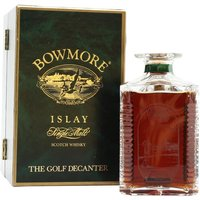 Bowmore Golf Decanter / Turnberry Golf Decanter Islay Whisky