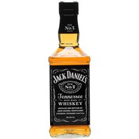 Jack Daniels Old No.7 / Half Bottle Tennessee Whiskey