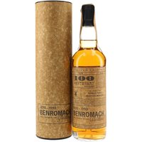 70cl / 43% / Gordon & MacPhail - Released to celebrate the distillery's centenary, this 17yo Benromach spent its final two years in sherry casks dating from 1886, 1895 and 1901 before bottling in 1998 by Gordon & Macphail, who had recently taken over and re-invigorated the distillery after a fifteen year distilling hiatus.