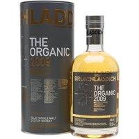 Bruichladdich Organic 2009 Islay Single Malt Scotch Whisky