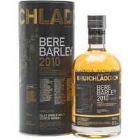 Bruichladdich Bere Barley 2010 Islay Single Malt Scotch Whisky