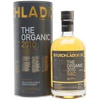 Bruichladdich Organic 2010 Islay Single Malt Scotch Whisky