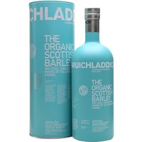 100cl / 50% / Distillery Bottling - Initially released for travel retail, this release from Bruichladdich is made entirely with organic Scottish-grown barley. Rich in texture with an underlying sweetness and notes of honey, almond and pear.