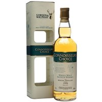 70cl / 46% / Gordon & MacPhail - A 1995 vintage Braeval (also known as Braes of Glenlivet) released under Gordon & Macphail's Connoisseurs Choice label.  Much of the distillery's production is used to produce volume for the Chivas Regal range of blends and no official distillery bottlings are produced.