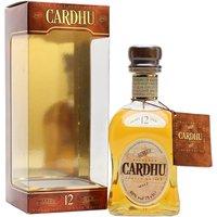 Cardhu 12 Year Old / Single Malt Speyside Single Malt Scotch Whisky
