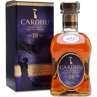Cardhu 18 Year Old Speyside Single Malt Scotch Whisky