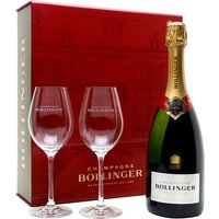 Bollinger Special Cuvee NV Champagne + 2 Glasses Pack