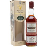 Caol Ila 1966 / 29 Year Old / Centenary Reserve / Gordon & Macphail Islay Whisky