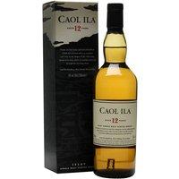Caol Ila 12 Year Old / Small Bottle Islay Single Malt Scotch Whisky