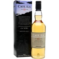 70cl / 61.5% / Distillery Bottling - The Diageo Special Releases 2016 edition of unpeated Caol Ila, yet again shot through with a hint of smoke. It's a mixture of American- and European-oak-matured whisky, adding some richness to Caol Ila's nutty unpeated spirit.
