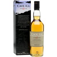Caol Ila 17 Year Old / Unpeated / Special Releases 2015 Islay Whisky